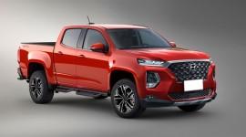 Bán tải của Hyundai sẽ được trang bị động cơ Diesel của GV80